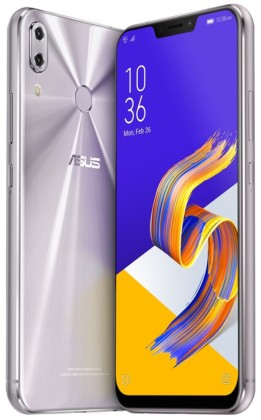 """ASUS Zenfone 5Z (ZS620KL-2H023EU) Silver - 6,2"""", 8x 2,8GHz, 64GB/6GB, Android 8.0"""
