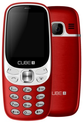 CUBE1 F500 Red (dualSIM)
